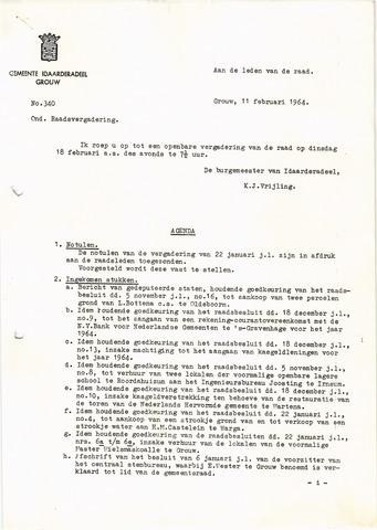 raadsverslagen Idaarderadeel 1935-1983 1964-02-18