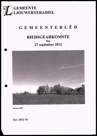 Notulen van de gemeenteraad van Leeuwarderadeel 2012-09-27