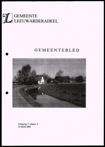 Notulen van de gemeenteraad van Leeuwarderadeel 2002-03-12