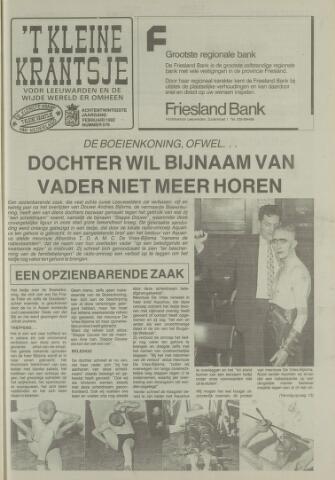 't Kleine Krantsje, 1964-1997 1992-02-01