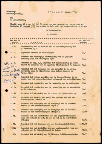 Notulen van de gemeenteraad van Leeuwarderadeel 1971-12-30