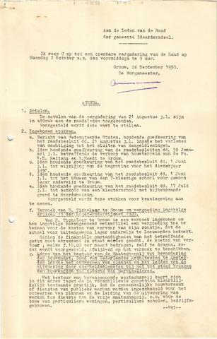 raadsverslagen Idaarderadeel 1935-1983 1950-10-02