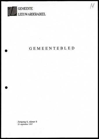 Notulen van de gemeenteraad van Leeuwarderadeel 1997-09-25
