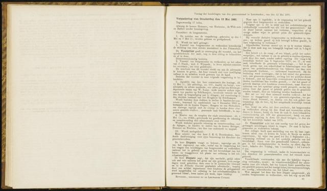 Raadsverslagen van de gemeente Leeuwarden, 1865-2007 (Notulen) 1881-05-12