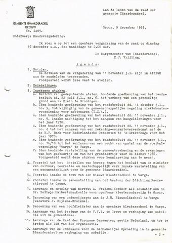 raadsverslagen Idaarderadeel 1935-1983 1969-12-09