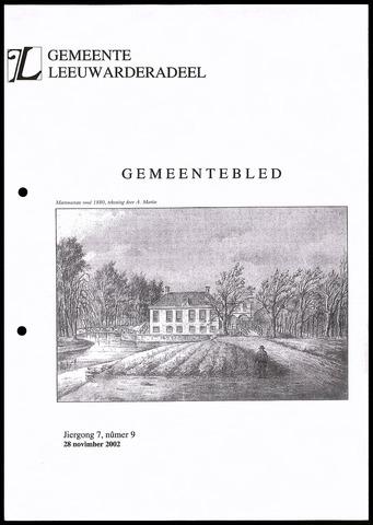 Notulen van de gemeenteraad van Leeuwarderadeel 2002-11-28