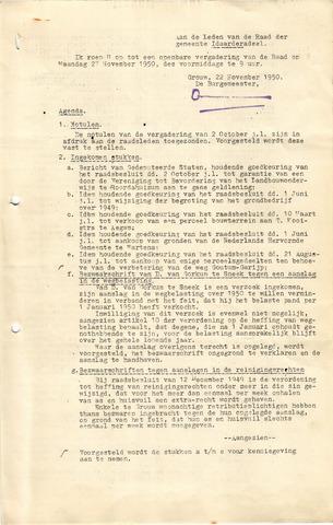 raadsverslagen Idaarderadeel 1935-1983 1950-11-27