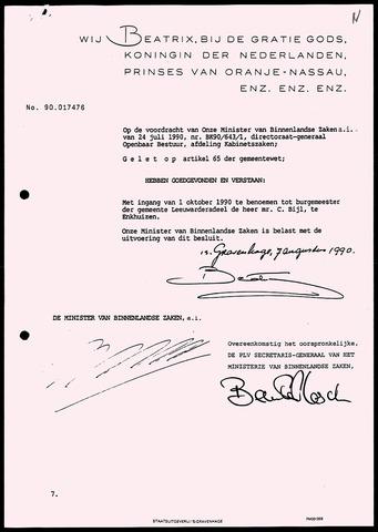 Notulen van de gemeenteraad van Leeuwarderadeel 1990-08-07