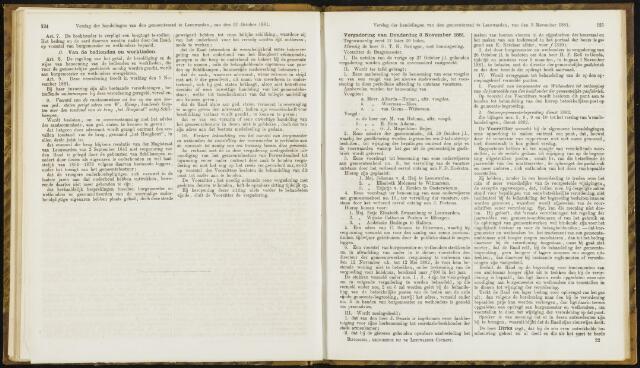 Raadsverslagen van de gemeente Leeuwarden, 1865-2007 (Notulen) 1881-11-03