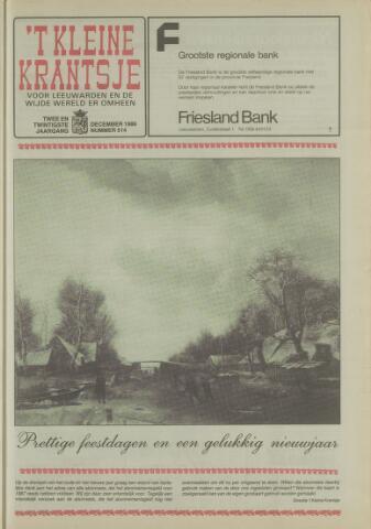 't Kleine Krantsje, 1964-1997 1986-12-01