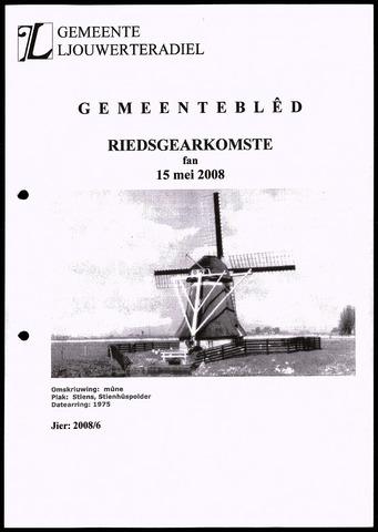 Notulen van de gemeenteraad van Leeuwarderadeel 2008-05-15