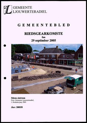 Notulen van de gemeenteraad van Leeuwarderadeel 2005-09-29