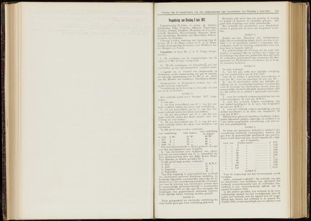 Raadsverslagen van de gemeente Leeuwarden, 1865-2007 (Notulen) 1917-06-05