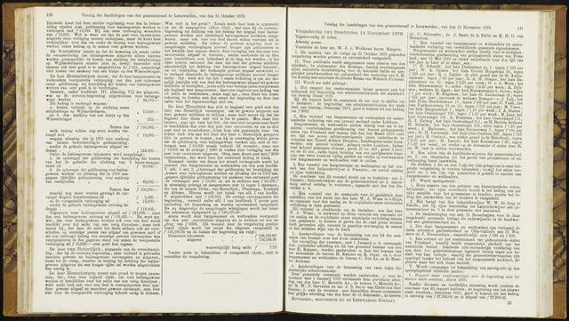 Raadsverslagen van de gemeente Leeuwarden, 1865-2007 (Notulen) 1878-11-14