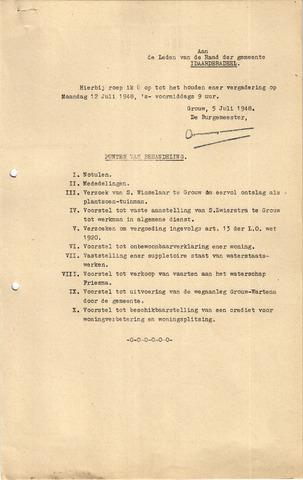 raadsverslagen Idaarderadeel 1935-1983 1948-07-12