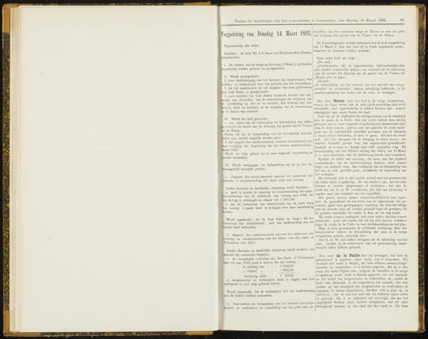 Raadsverslagen van de gemeente Leeuwarden, 1865-2007 (Notulen) 1893-03-14