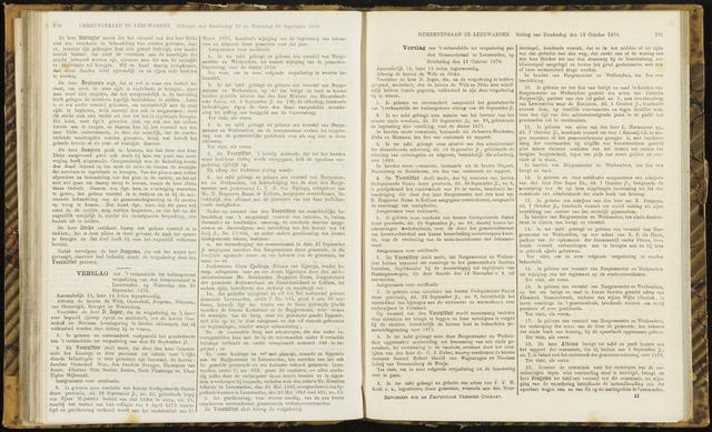 Raadsverslagen van de gemeente Leeuwarden, 1865-2007 (Notulen) 1870-09-28