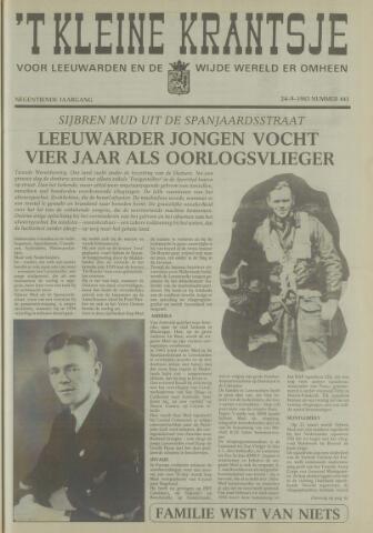 't Kleine Krantsje, 1964-1997 1983-09-24