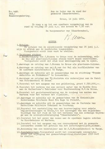 raadsverslagen Idaarderadeel 1935-1983 1956-07-20