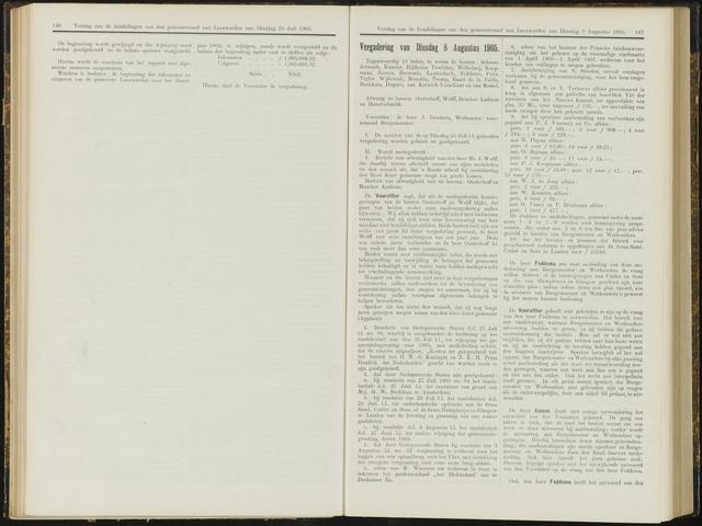 Raadsverslagen van de gemeente Leeuwarden, 1865-2007 (Notulen) 1905-08-08