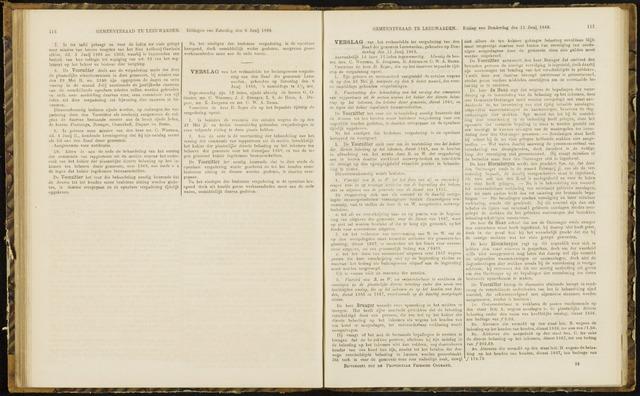 Raadsverslagen van de gemeente Leeuwarden, 1865-2007 (Notulen) 1868-06-11