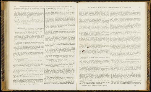 Raadsverslagen van de gemeente Leeuwarden, 1865-2007 (Notulen) 1869-12-23