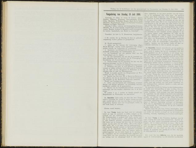 Raadsverslagen van de gemeente Leeuwarden, 1865-2007 (Notulen) 1906-10-07