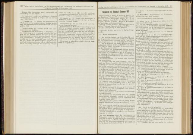 Raadsverslagen van de gemeente Leeuwarden, 1865-2007 (Notulen) 1917-12-11