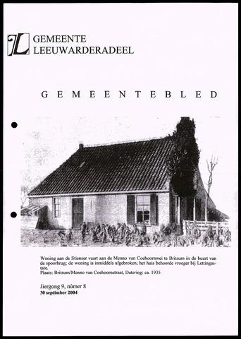 Notulen van de gemeenteraad van Leeuwarderadeel 2004-09-30