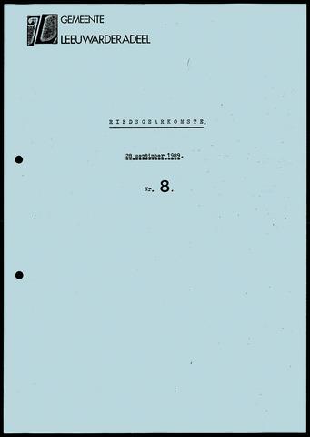 Notulen van de gemeenteraad van Leeuwarderadeel 1989-09-28
