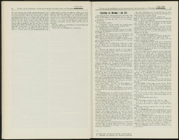Raadsverslagen van de gemeente Leeuwarden, 1865-2007 (Notulen) 1941-06-06