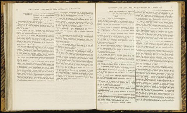 Raadsverslagen van de gemeente Leeuwarden, 1865-2007 (Notulen) 1870-12-19