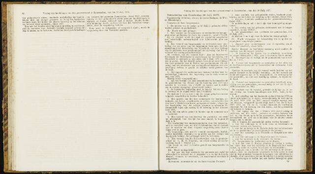 Raadsverslagen van de gemeente Leeuwarden, 1865-2007 (Notulen) 1877-07-26