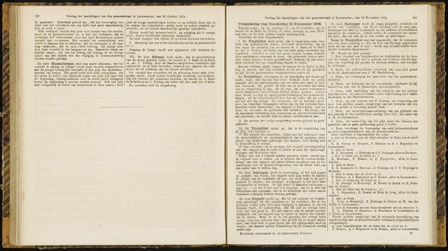 Raadsverslagen van de gemeente Leeuwarden, 1865-2007 (Notulen) 1874-11-12