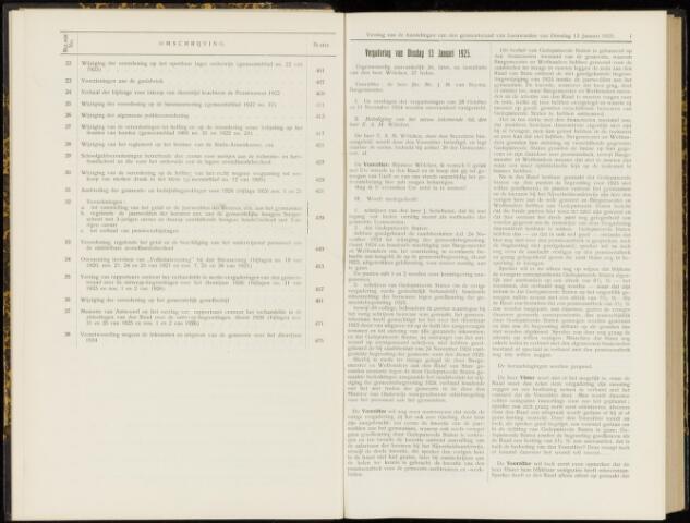 Raadsverslagen van de gemeente Leeuwarden, 1865-2007 (Notulen) 1925