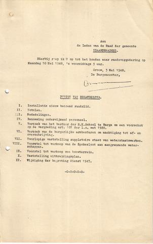 raadsverslagen Idaarderadeel 1935-1983 1948-05-10
