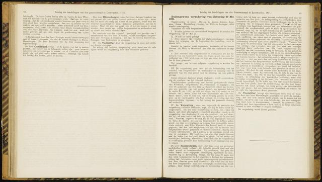 Raadsverslagen van de gemeente Leeuwarden, 1865-2007 (Notulen) 1871-05-27