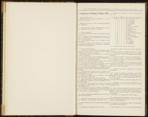 Raadsverslagen van de gemeente Leeuwarden, 1865-2007 (Notulen) 1896-03-10