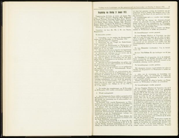 Raadsverslagen van de gemeente Leeuwarden, 1865-2007 (Notulen) 1933-03-31