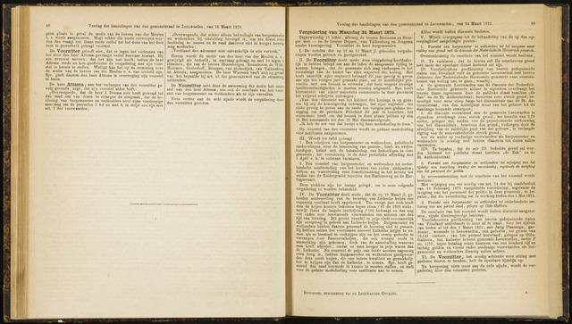 Raadsverslagen van de gemeente Leeuwarden, 1865-2007 (Notulen) 1873-03-24