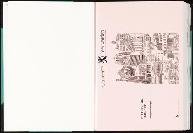 Raadsverslagen van de gemeente Leeuwarden, 1865-2007 (Bijlagen) 1988-01-01