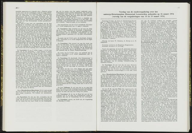 Raadsverslagen van de gemeente Leeuwarden, 1865-2007 (Notulen) 1974-03-26
