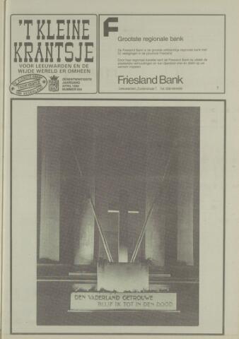 't Kleine Krantsje, 1964-1997 1990-04-01