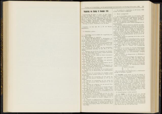 Raadsverslagen van de gemeente Leeuwarden, 1865-2007 (Notulen) 1930-11-18