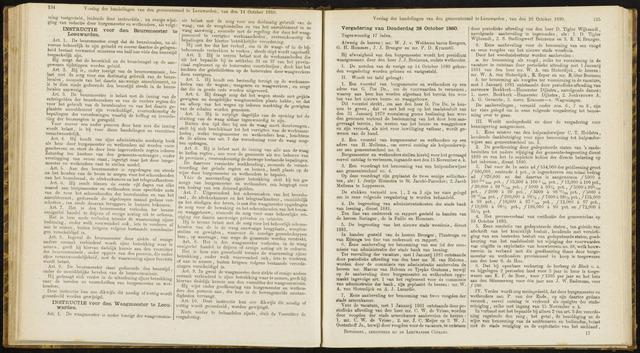 Raadsverslagen van de gemeente Leeuwarden, 1865-2007 (Notulen) 1880-10-28