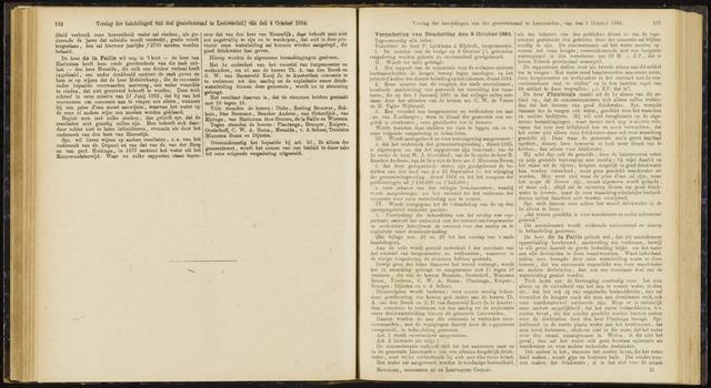Raadsverslagen van de gemeente Leeuwarden, 1865-2007 (Notulen) 1884-10-09
