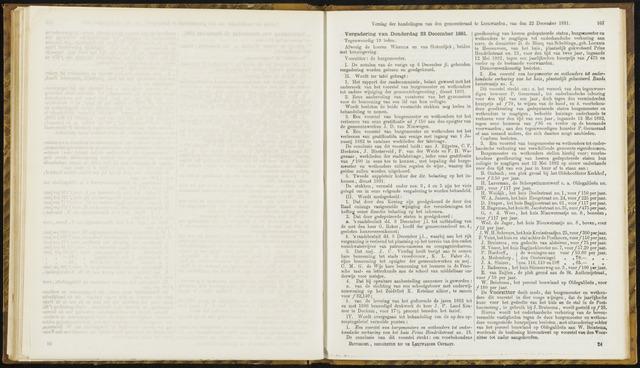 Raadsverslagen van de gemeente Leeuwarden, 1865-2007 (Notulen) 1881-12-22