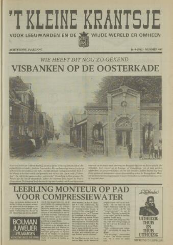 't Kleine Krantsje, 1964-1997 1982-04-16