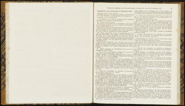 Raadsverslagen van de gemeente Leeuwarden, 1865-2007 (Notulen) 1878-02-14