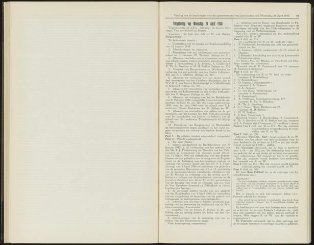 Raadsverslagen van de gemeente Leeuwarden, 1865-2007 (Notulen) 1940-04-24